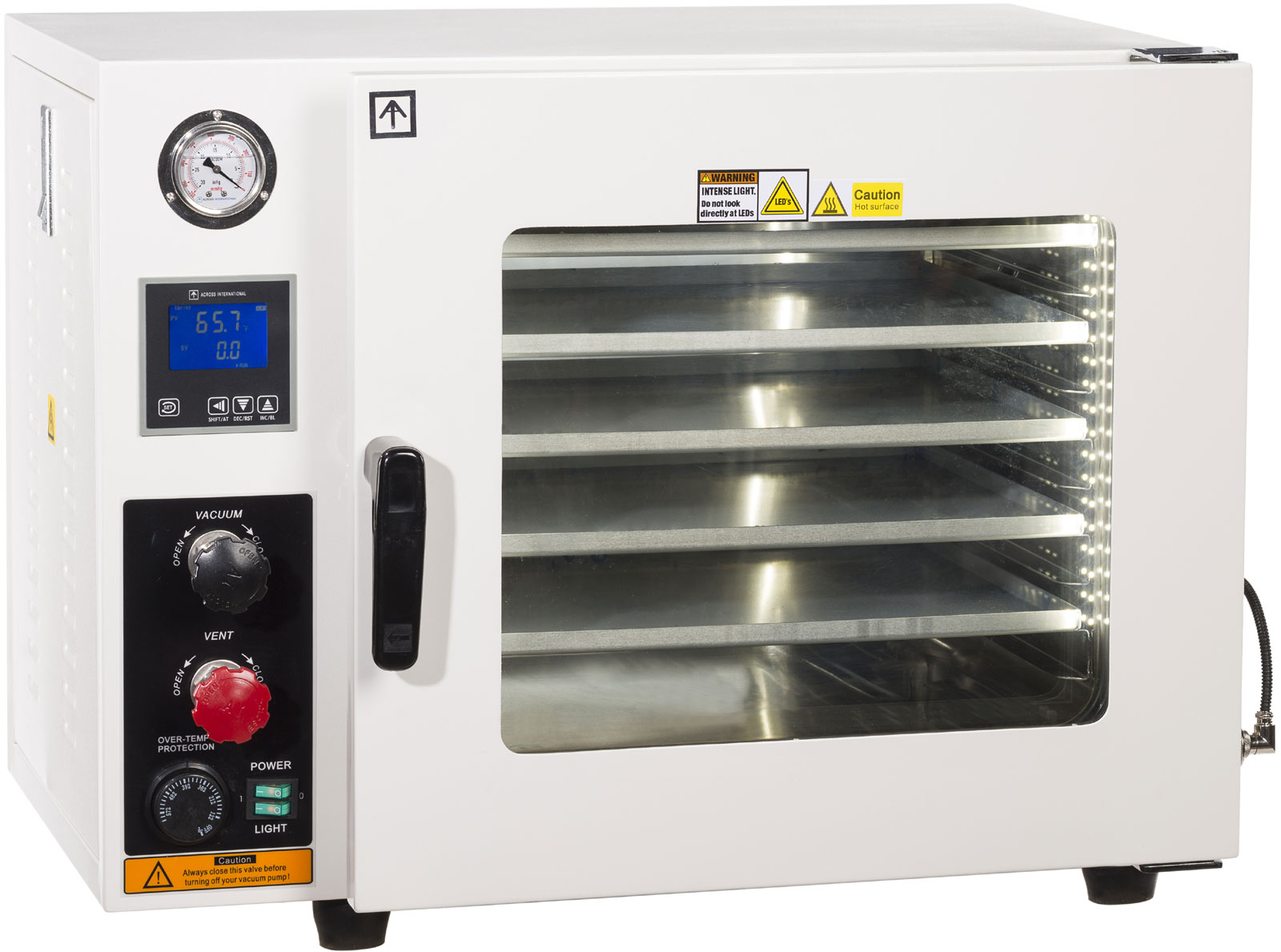 across international 1.9 cu ft vacuum oven