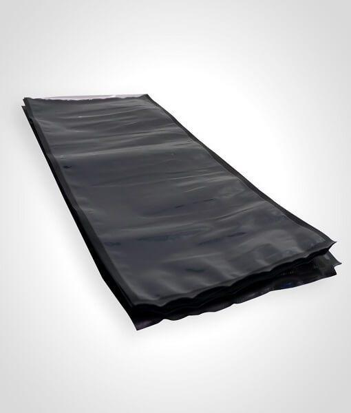 StashBags – 11.5″ x 24″ Black & Clear Pre-Cut Vacuum Seal Bags (100ct)