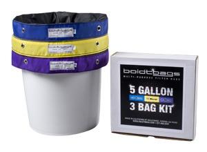 BoldtBags 5 Gallon 3 Bag Kit