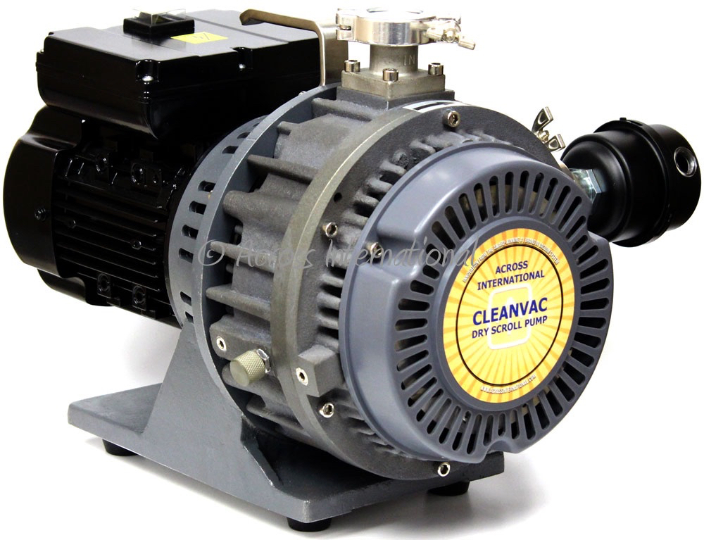 Across International CleanVac 5.1 CFM Compact Dry Scroll Pump