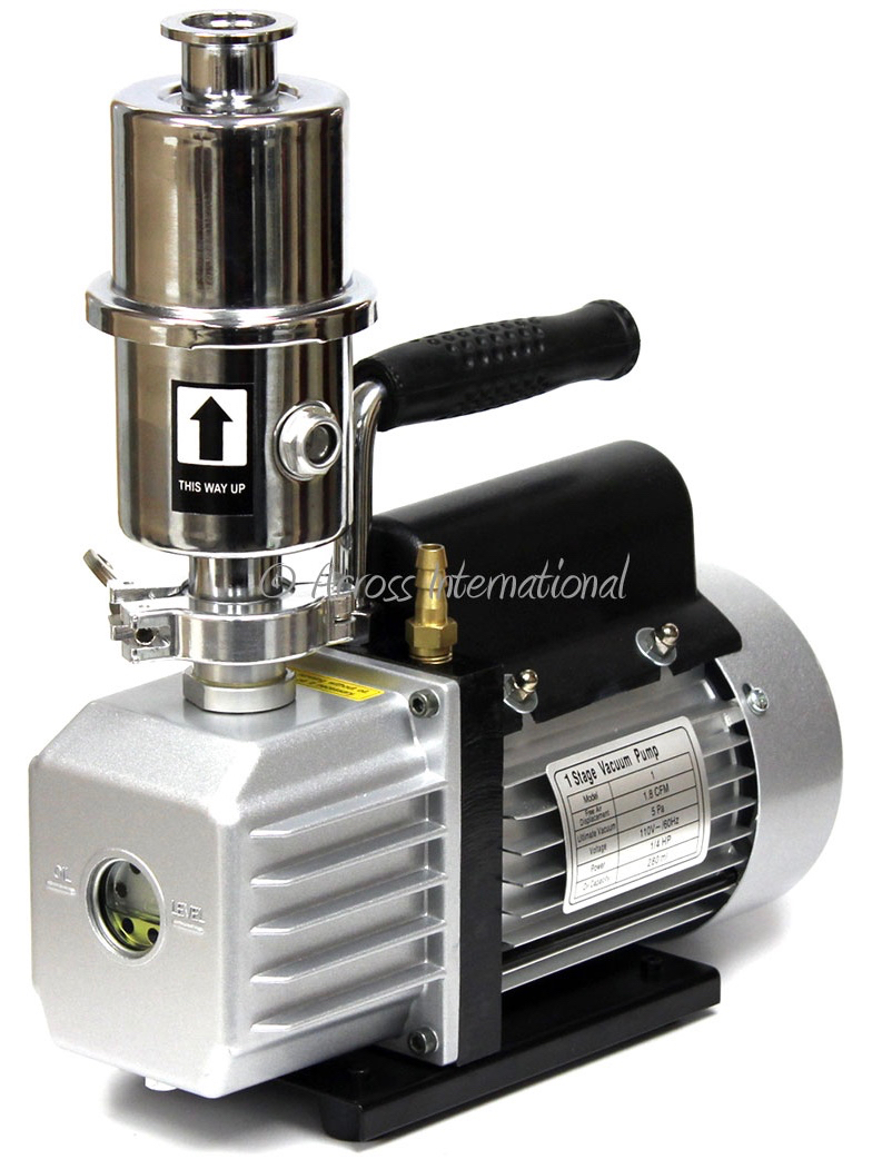Across International EasyVac 1.8 CFM Compact Pump