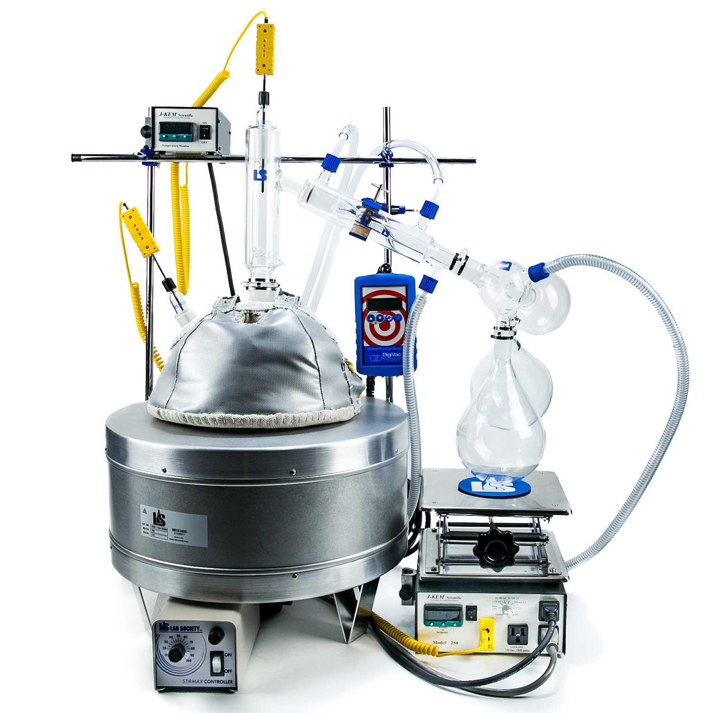 Lab Society 5L G2 Executive Short Path Distillation Kit