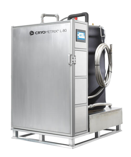 Cryometrix L-80 Liquid ethanol Chiller for hemp and cannabis extraction