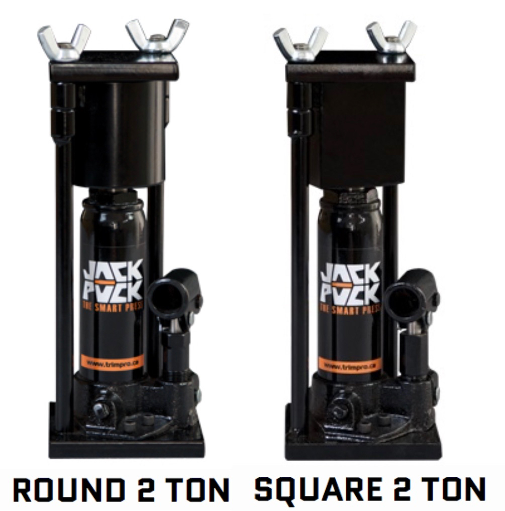TrimPro Jack Puck 2 Ton Press (Round or Square)