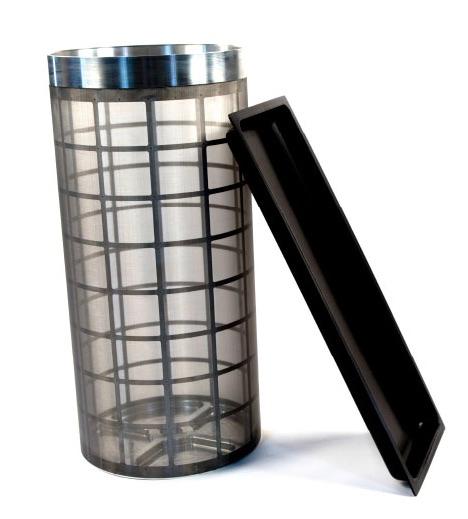 Triminator Kief Kit drum and catchment tray