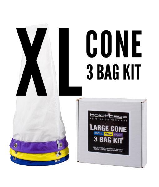 BoldtBag XL Cone 3 Bag Kit