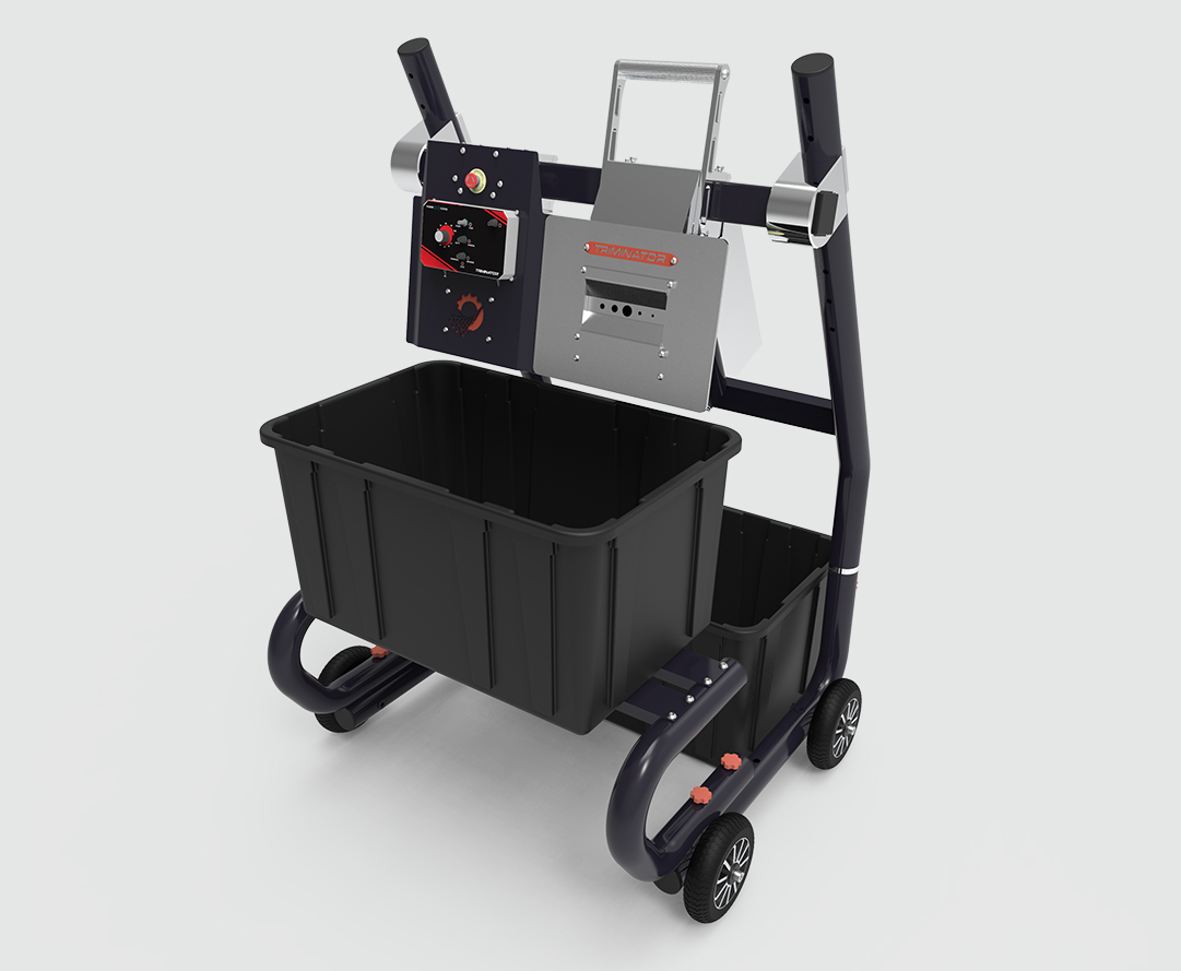 Triminator BuckMaster with plastic bins
