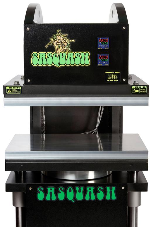 Sasquash Heavy Yeti Cannabis flower and Hemp rosin press