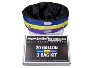BoldtBags 20 Gallon 3 Bag Kit