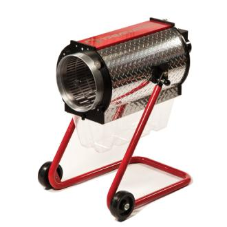Red and silver Triminator Trimming Machine