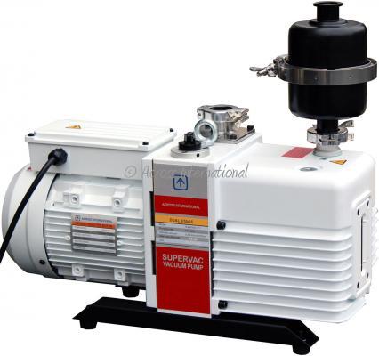 Across International SuperVac 11.3 CFM Commercial Grade 2-Stage Pump
