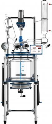 Across International 20L Single Jacketed Filter Glass Reactor Systems