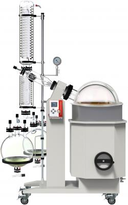 Dual Receiving Flask Kit for Ai SolventVap 50L Rotary Evaporator