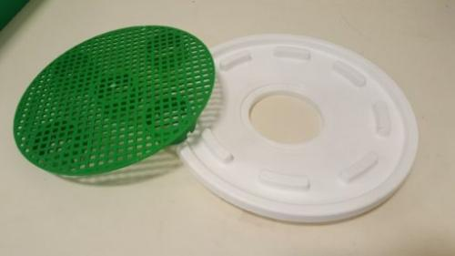 5 Gallon Bucket Lid/Screen Curing Kit For CureCork
