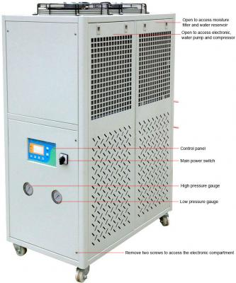 Ai 10°C to 25°C 117L/Min 280L Capacity Recirculating Chiller