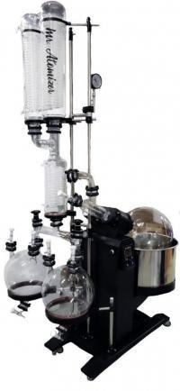 Mr Atomizer XXL 50L Rotary Evaporator with Dual Condenser & Flasks
