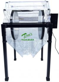Tom's Tumble Trimmer with dust cover and kief net